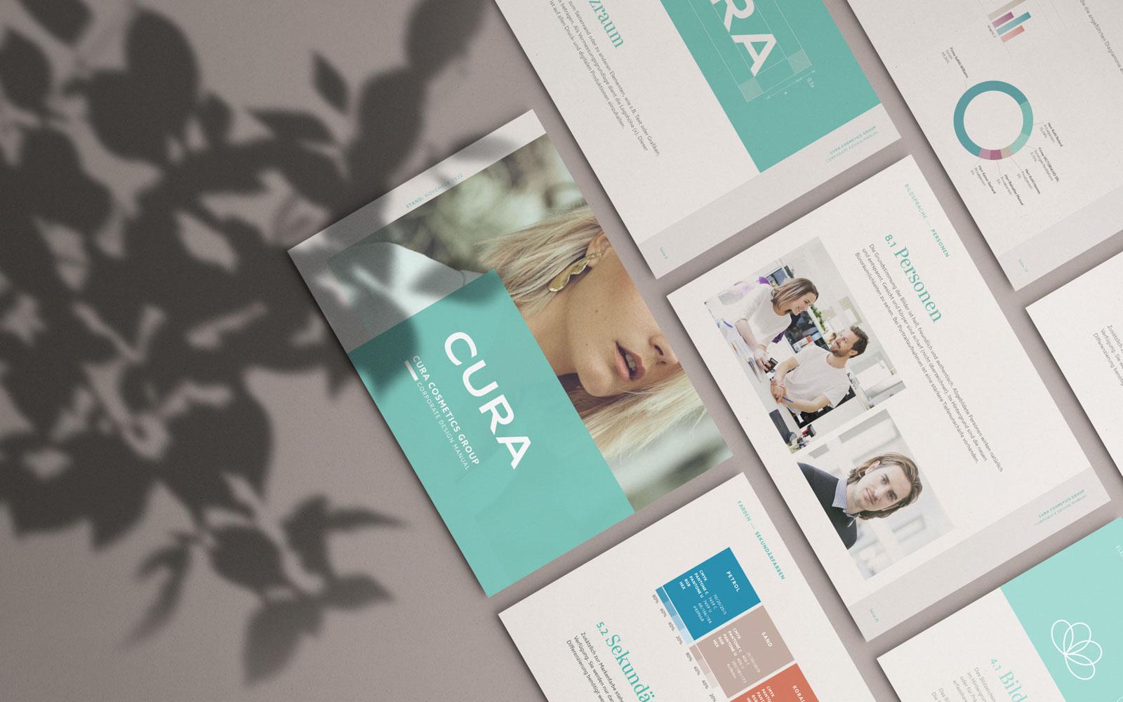 CURA Cosmetics - Corporate Design