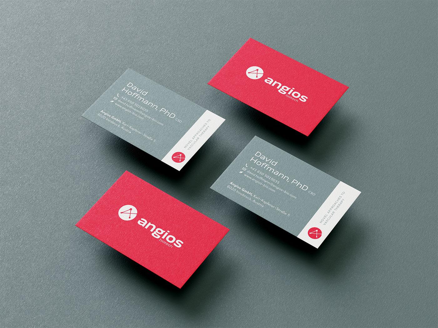 Angios biotech - Corporate Design