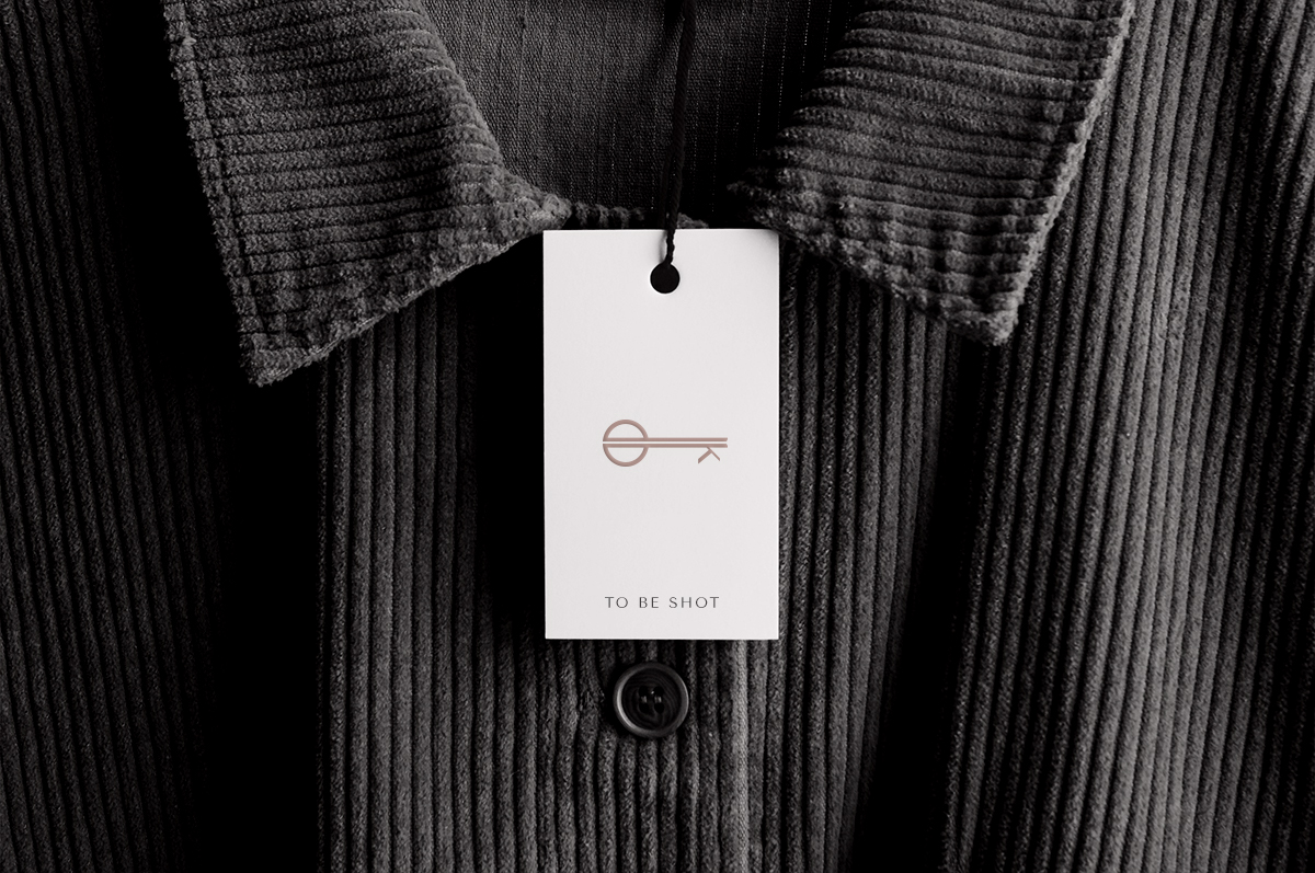 jacket with tag