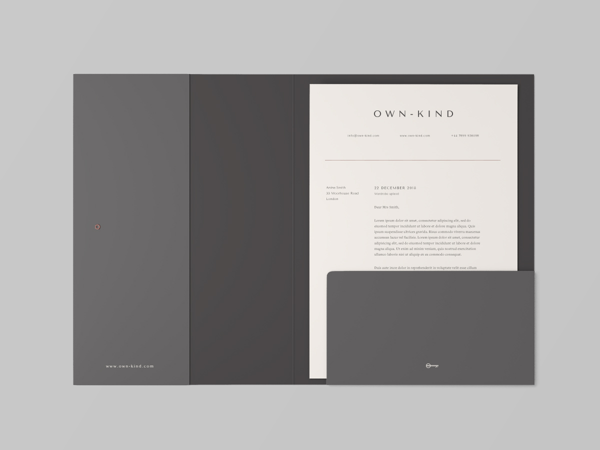stationary folder