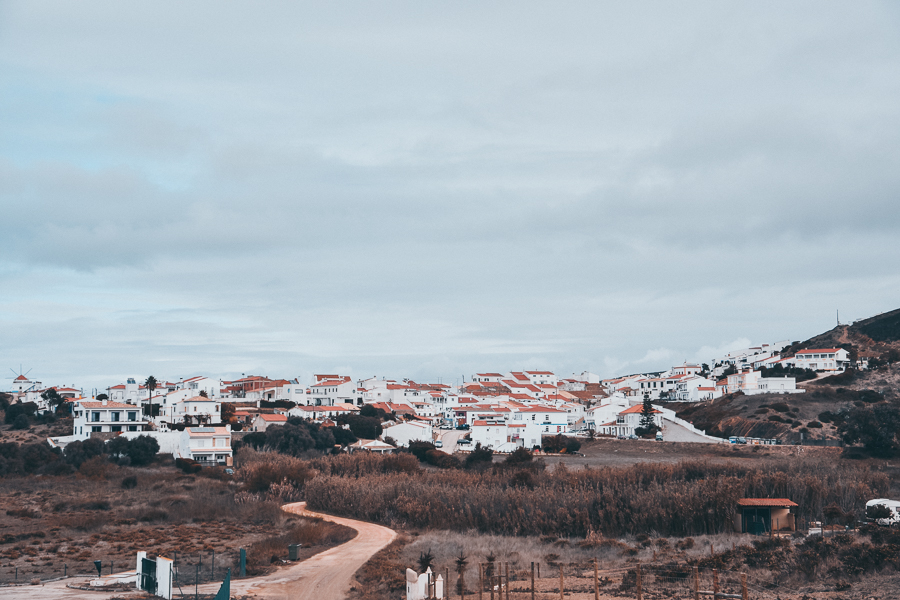 The Village of Carrapateira in the Algarve Portugal