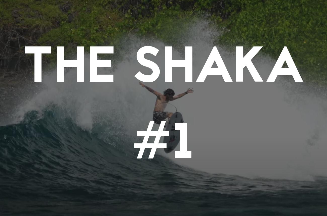 Mason Ho surfing a weird wedge in Fernando de Noronha