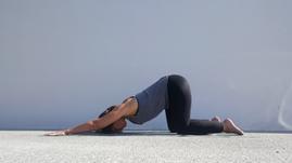 Yoga Puppy pose - Uttana Shishosana