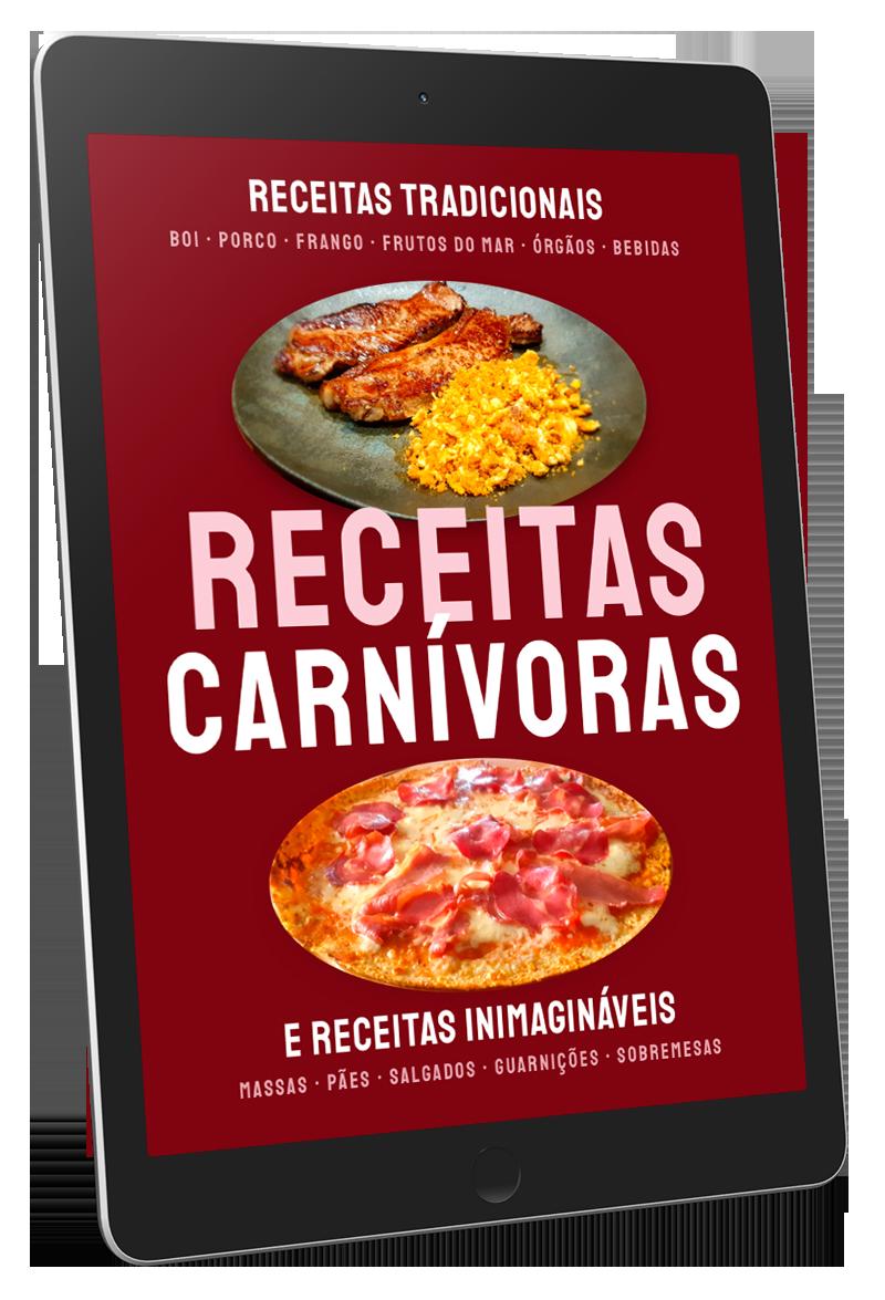 Livro de Receitas Carnívoras por Jade Soller, Paolo Knopp e Lucas Chaves