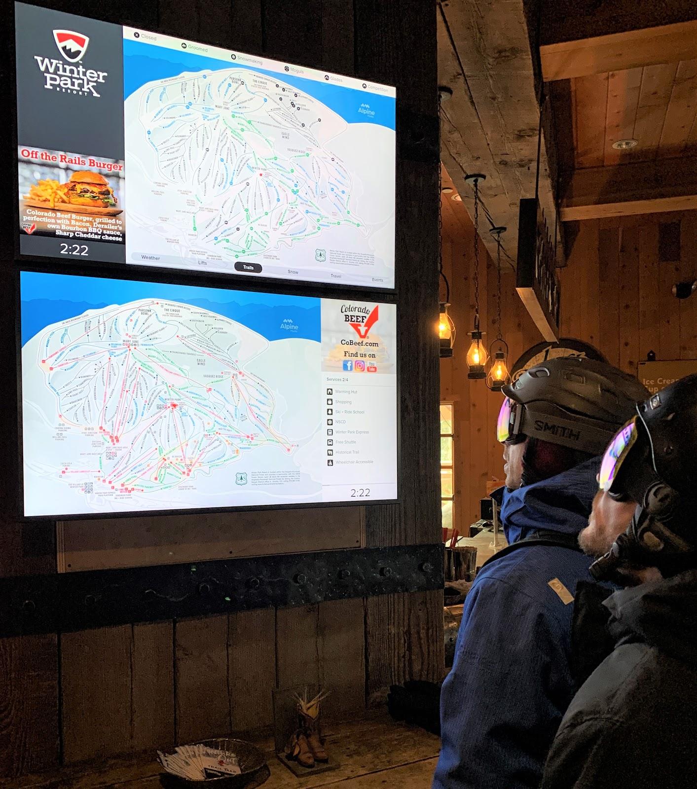 Alpine Media Digital Display