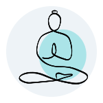 icon for yoga and pilates in solihull