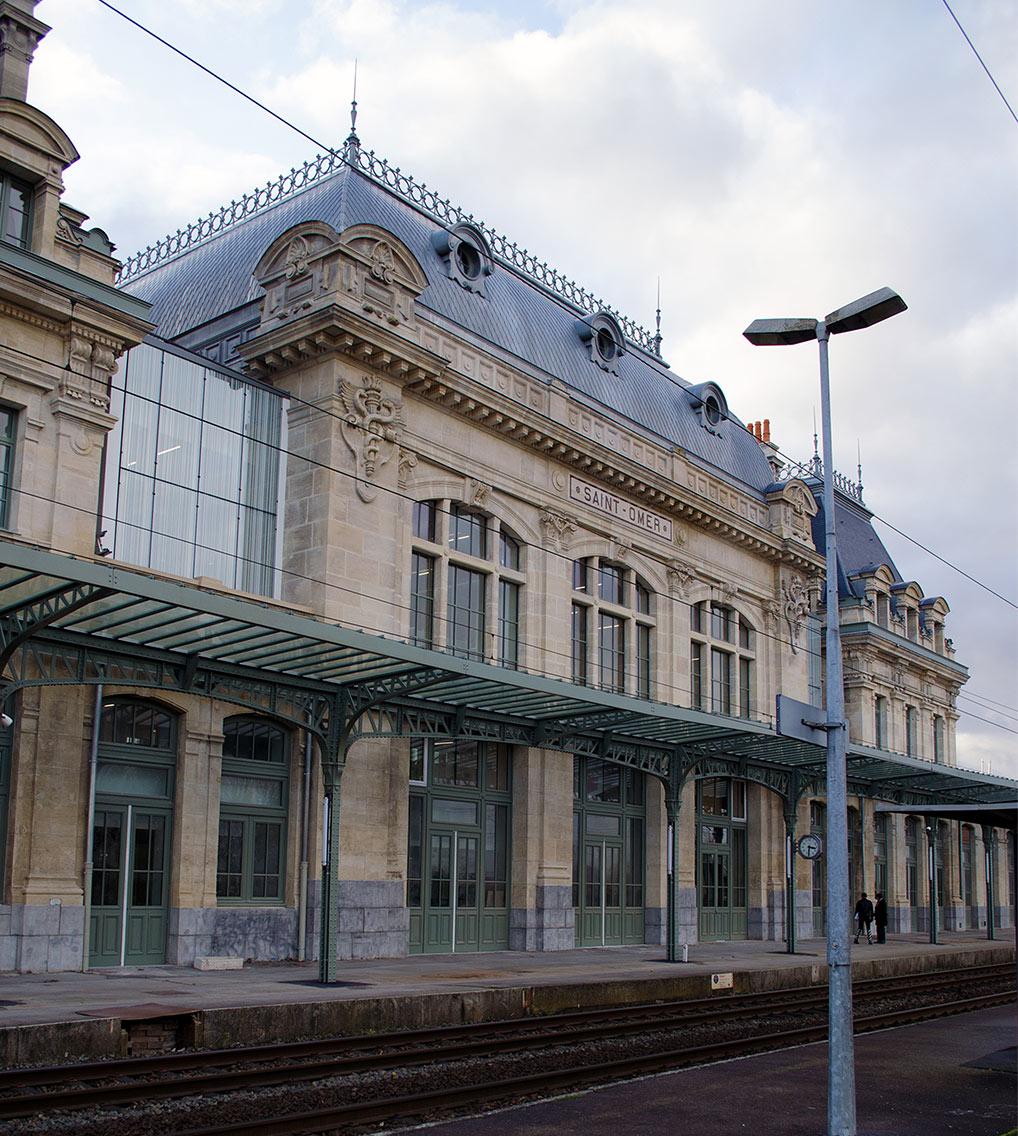 Gare Saint Omer menuiseries extérieures van henis