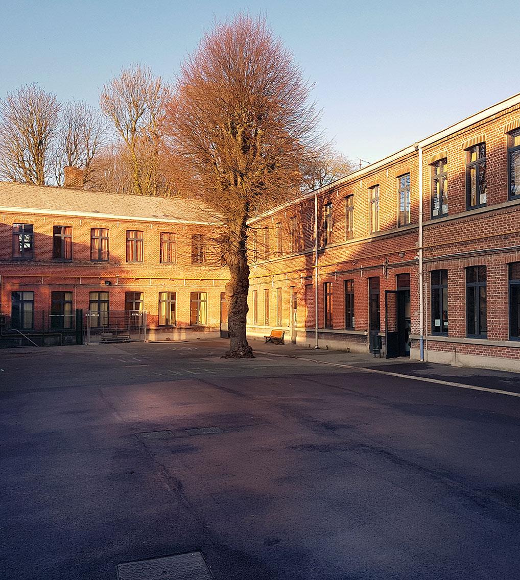 Ecole Sorlin Loos menuiseries extérieures van henis