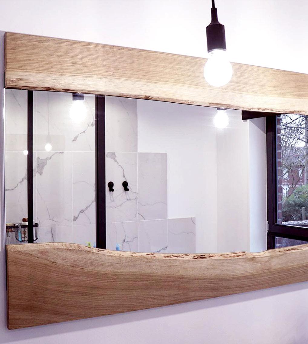 miroir live edge mobilier design tourcoing nord france