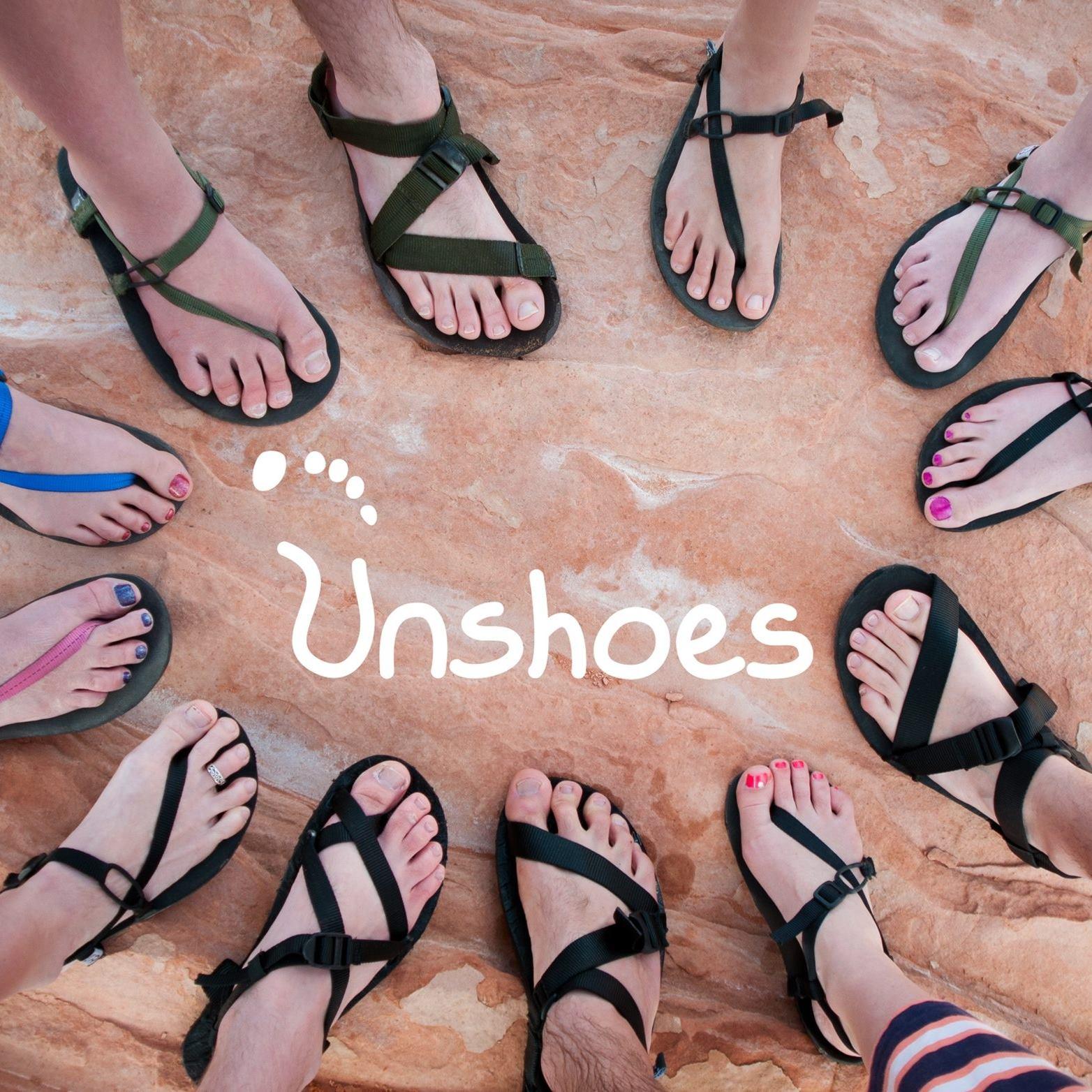 Lightweight and flexible footwear.