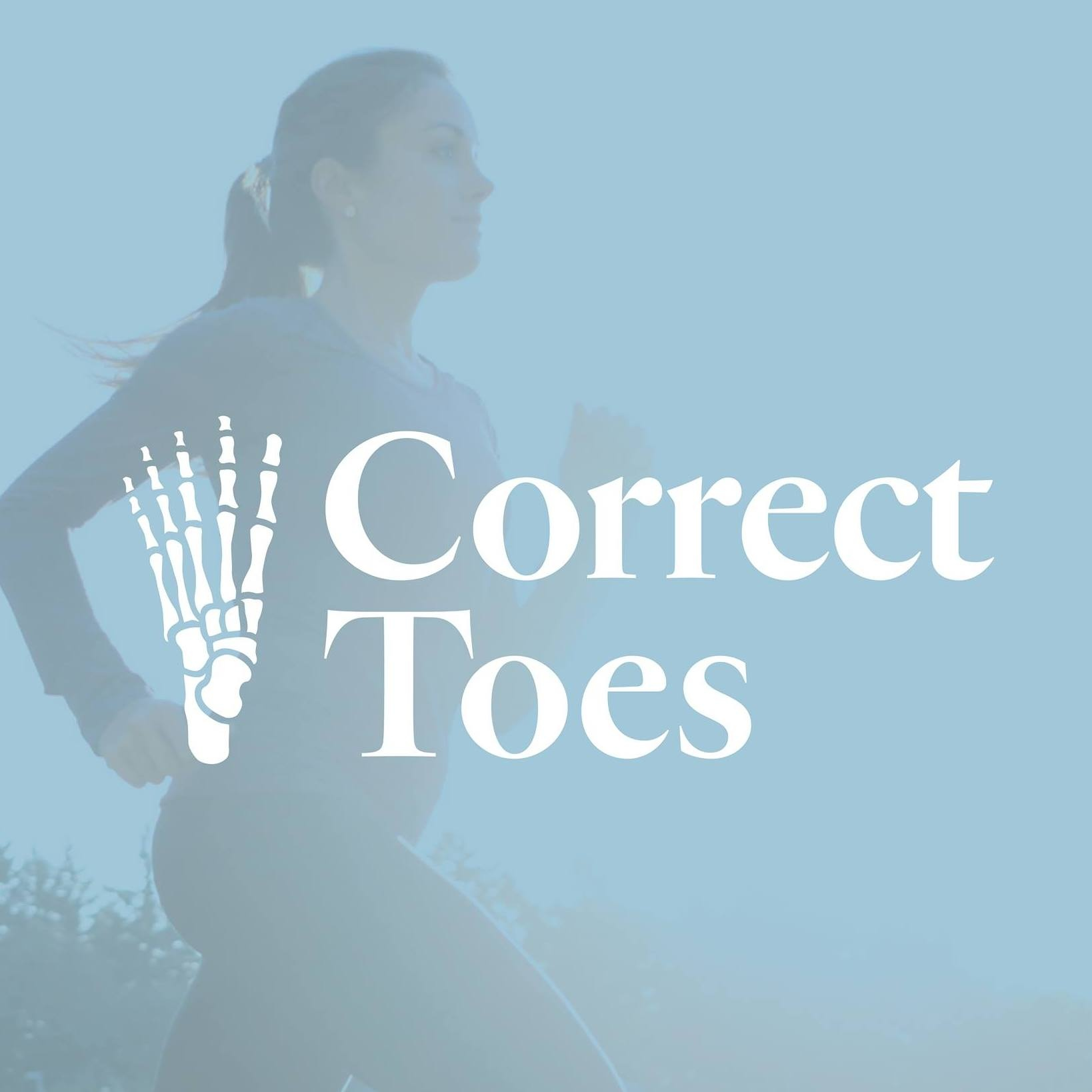 Anatomical toe spacers designed by sports podiatrists