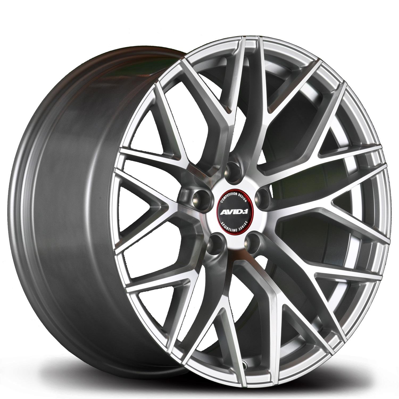 SL03 Silver Black Angle 2