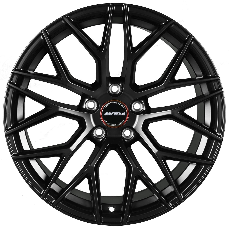 SL03 Mattle Black Front