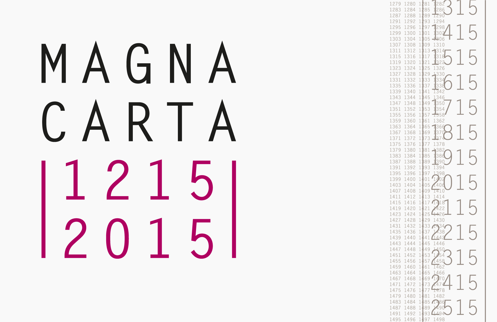 Linklaters / Magna Carta sponsorship campaign