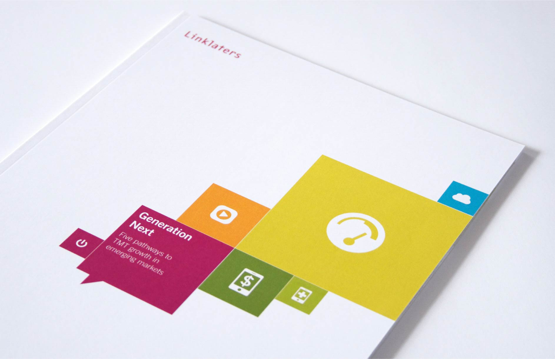 Linklaters / TMT brochure and microsite