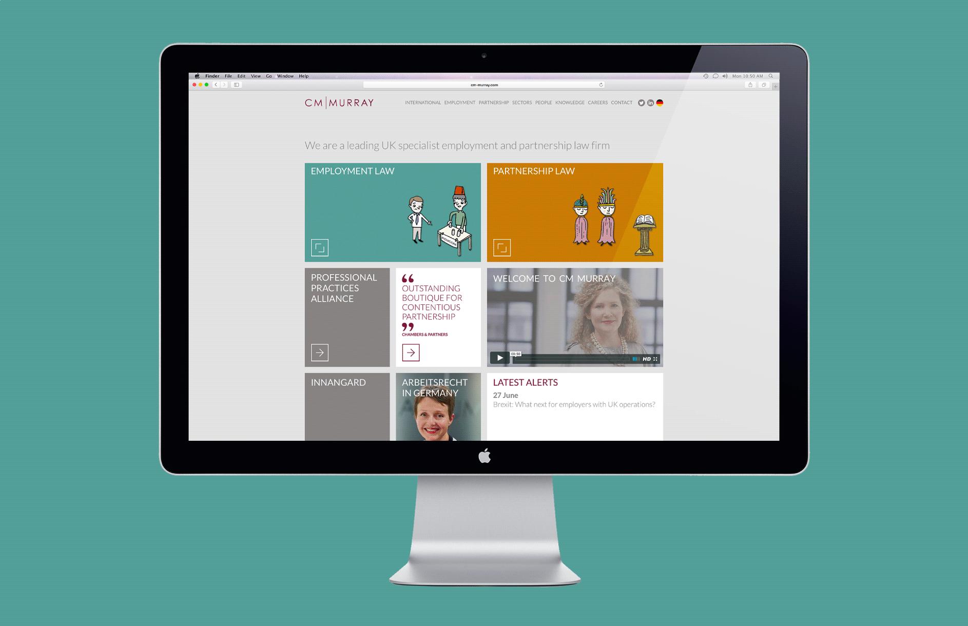 CM Murray / Rebrand and website