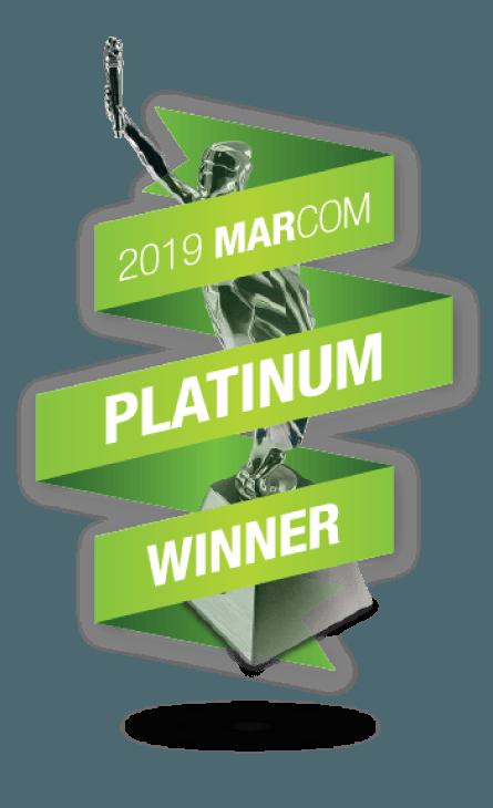 Marcom Awards – 2019 Platinum Winner