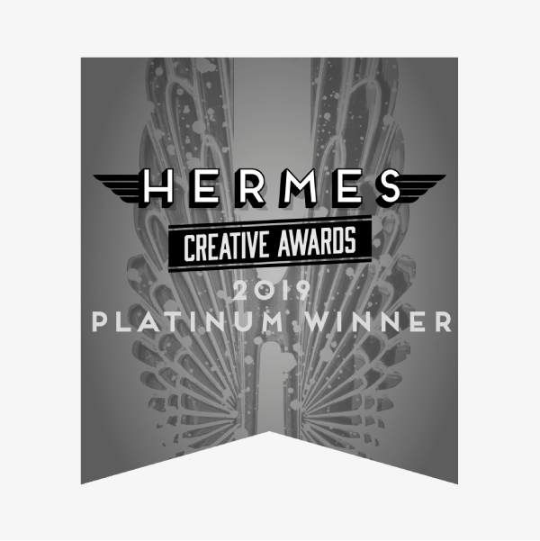 Hermes Creative Awards – 2019 Platinum Winner
