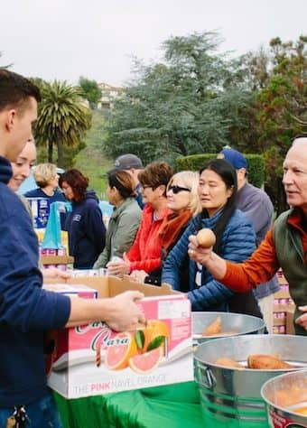 Volunteer at Lagunitas School pop-up pantry