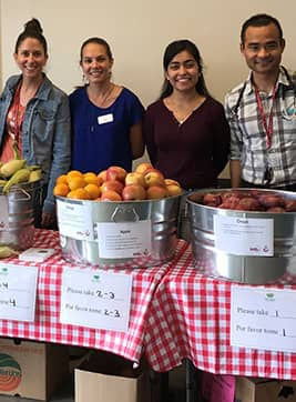 Volunteer at Martin Luther King MS pop-up pantry