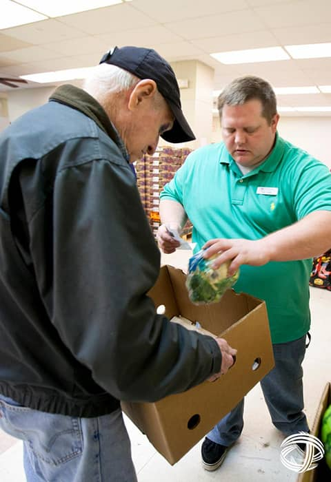 Low-income families and the elderly count on Cityteam to help with food boxes throughout the year. One out of four people suffer from hunger.