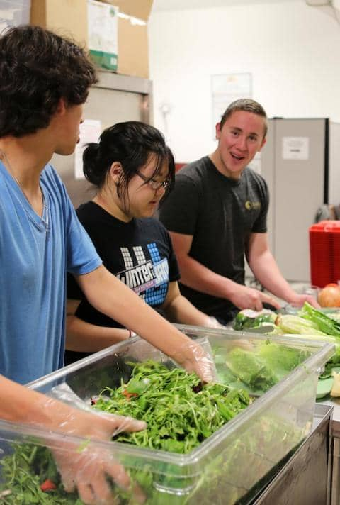 Help us cook meals for our residents