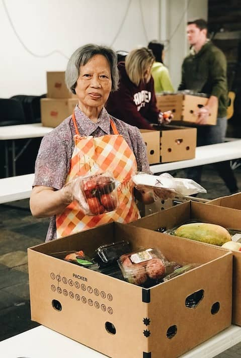 Help us create grocery bags and make meals