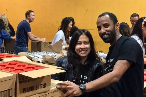Axiom Team at San Francisco Marin Food Bank