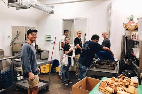 We had a team from @zscareers volunteer with us last week, serving the residents through various work. Thank you for your time and service!
