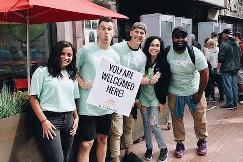 SF City Impact volunteers