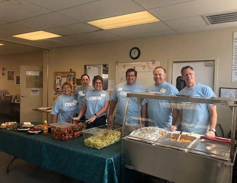 Volunteers at Loaves and Fishes of Contra Costa