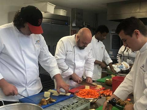 Loaves and Fishes opens new class of culinary students