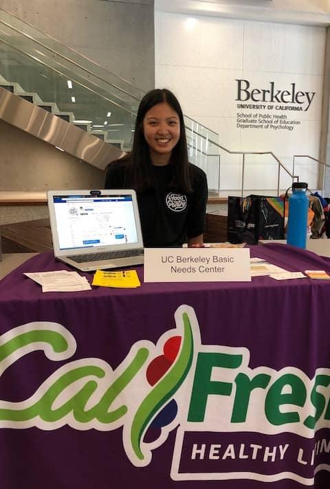 Students volunteering at UC Berkeley Food Pantry