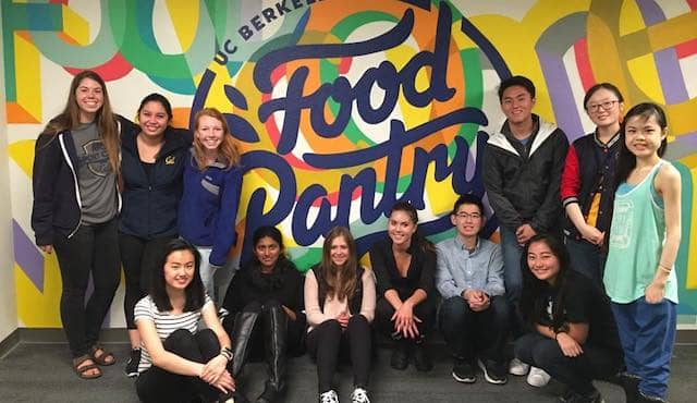 UC Berkeley Food Pantry team