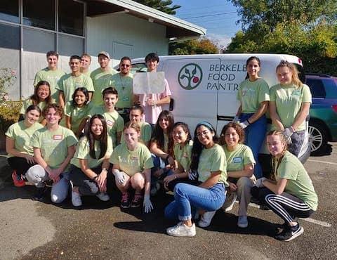 Berkeley Food Pantry team