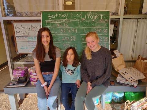Volunteers at Berkeley Food Pantry