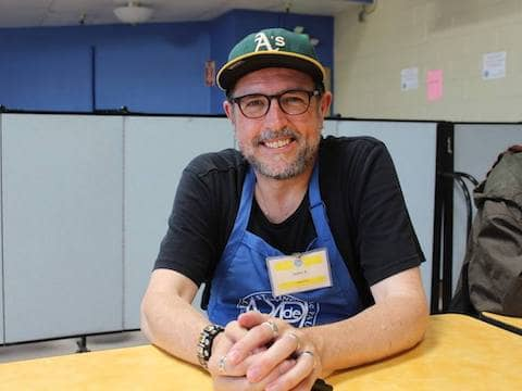 Committed dining room volunteer John Proctor has worked with St. Vincent de Paul since childhood
