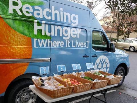 St. Vincent de Paul of Alameda County food pantry