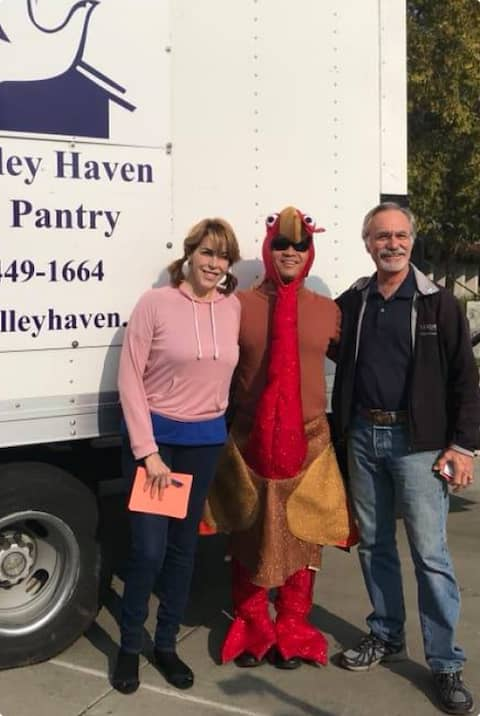 Volunteers at Tri-Valley Haven
