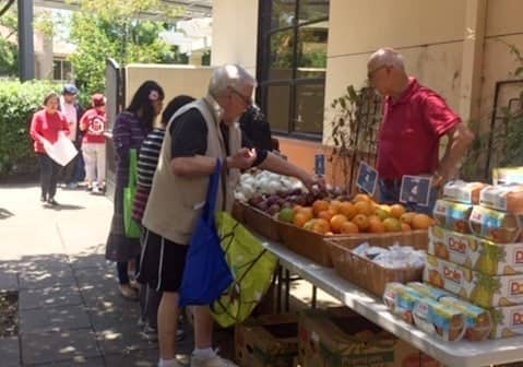 Tri-City Volunteers pop-up pantry