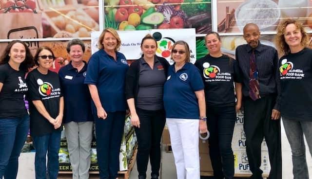 Alameda Food Bank team