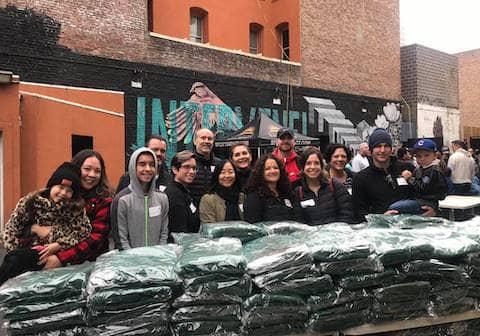 San Francisco City Impact volunteers