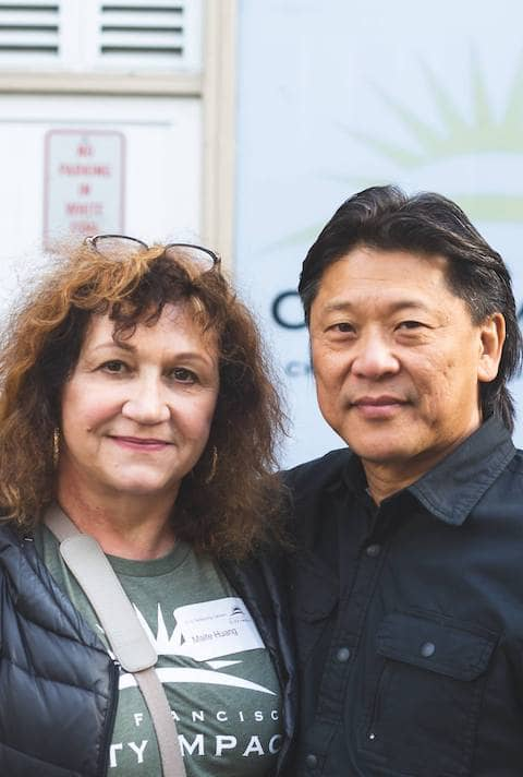 Roger and Maite Huang, founders of San Francisco City Impact