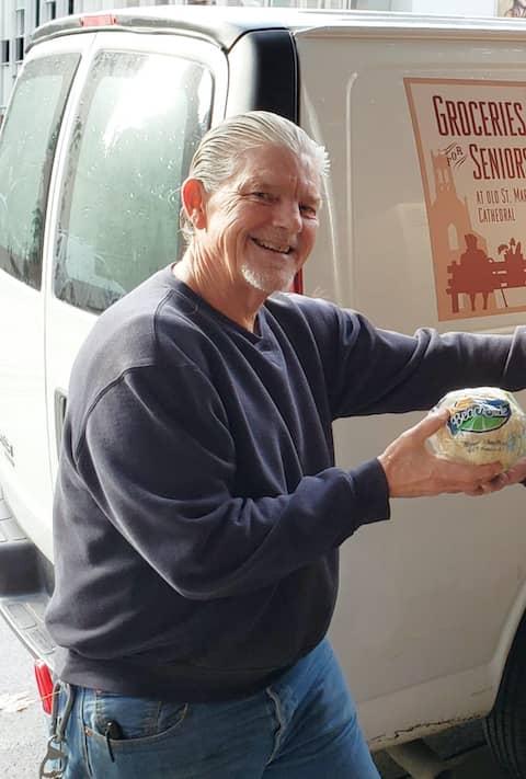 Tom Beaver, Program Director at Groceries for Seniors