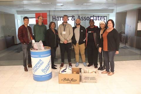 Thank you to all Harris Association employee owners for contributing to the Monument Crisis Center's food drive here in Concord. And Sherill Conley for leading and organizing this effort! It's great to be able to help and provide resources to people here in our local community!