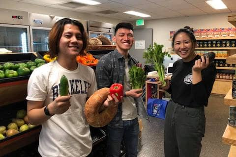 Hehe join our UC Berkeley Food Pantry team of wonderful hooman beanz