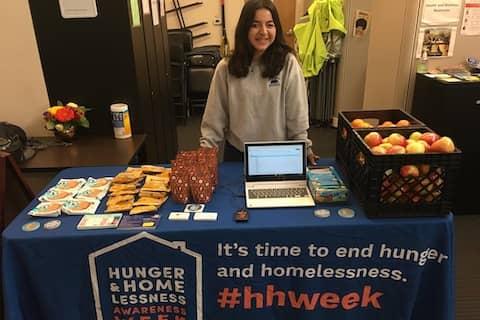 Volunteering at UC Berkeley Food Pantry