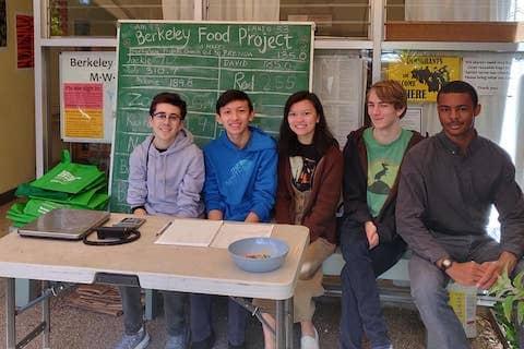 Volunteering at Berkeley Food Pantry