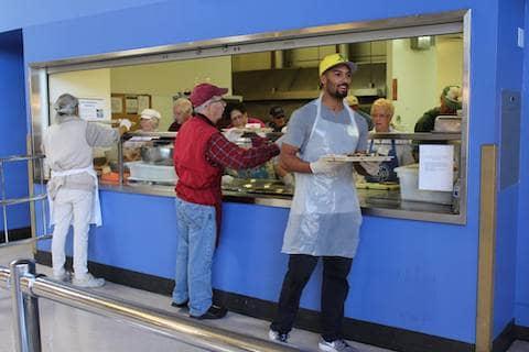 Volunteering at St. Vincent de Paul of Alameda County