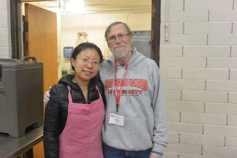 Saint Anthony's Padua Dining Room volunteers